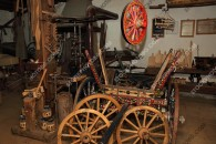 Ethnographic museum complex - shop cart - pictures from Bulgaria