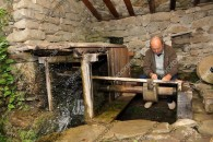 Ethnographic museum complex - water grindstone - pictures from Bulgaria