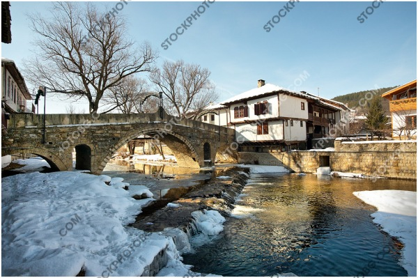 Tryavna winter - pictures from Bulgaria